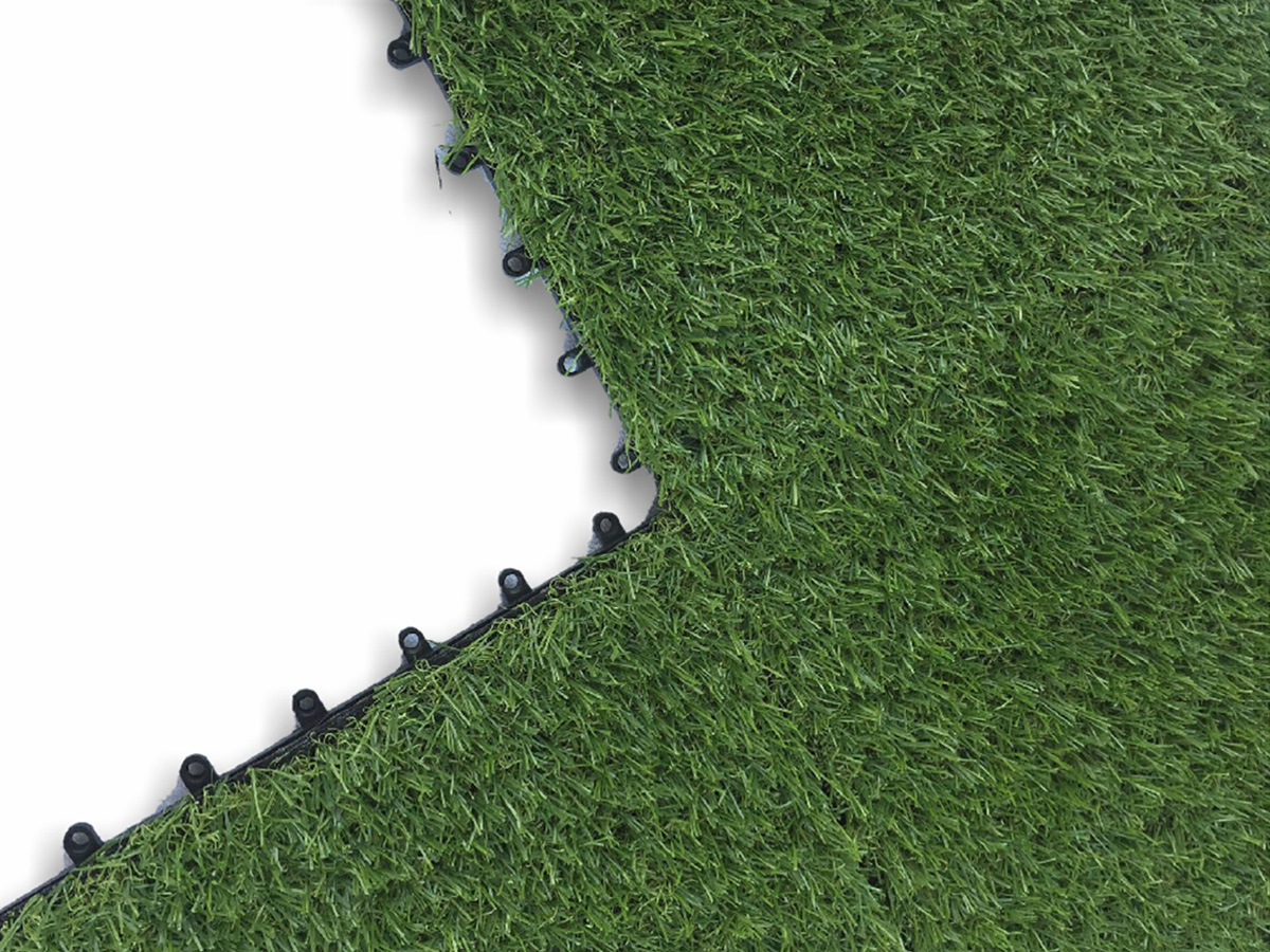 Artificial Turf Interlocking Tiles